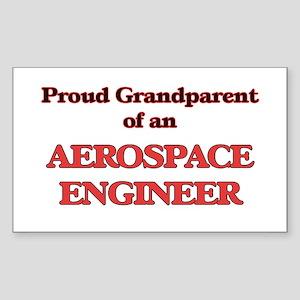 Proud Grandparent of a Aerospace Engineer Sticker