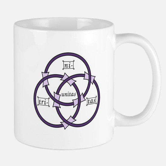 Trinity - Borromean Rings Mugs