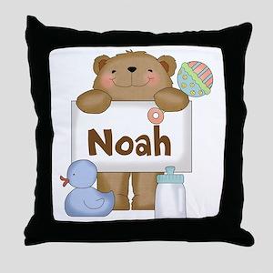 Noah's Throw Pillow