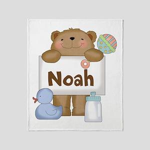 Noah's Throw Blanket