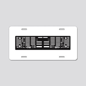 License Plate Frame Aluminum License Plate
