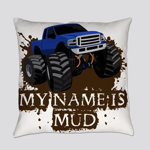 MUD TRUCK-01 Everyday Pillow