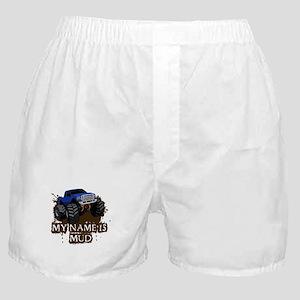 MUD TRUCK-01 Boxer Shorts