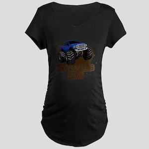 MUD TRUCK-01 Maternity T-Shirt