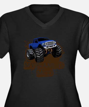 MUD TRUCK-01 Plus Size T-Shirt