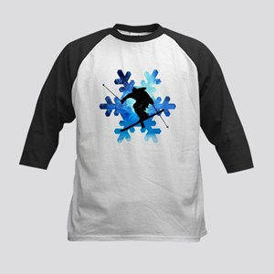 Winter Landscape Freestyle skier i Baseball Jersey