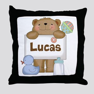 Lucas's Throw Pillow
