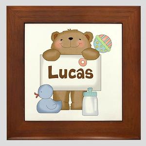 Lucas's Framed Tile