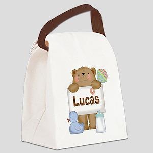 Lucas's Canvas Lunch Bag