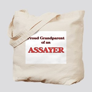 Proud Grandparent of a Assayer Tote Bag
