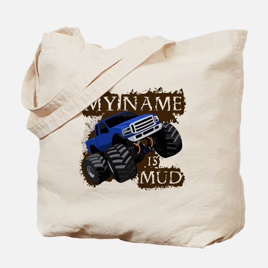 Funny Truck and tractor pulling Tote Bag