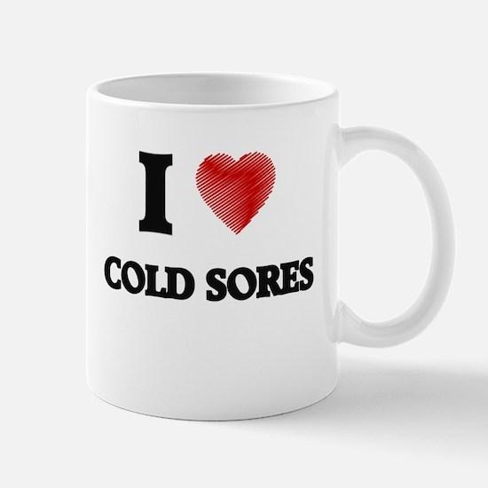 cold sore Mugs