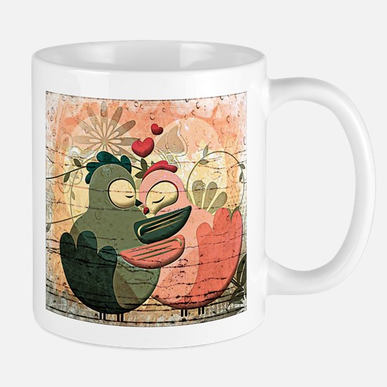 Love Birds illustration Mugs