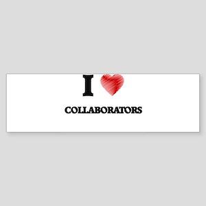 collaborator Bumper Sticker