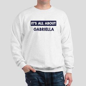 All about GABRIELLA Sweatshirt