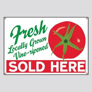 Tomatoes Sold Here Banner