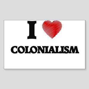 colonialism Sticker