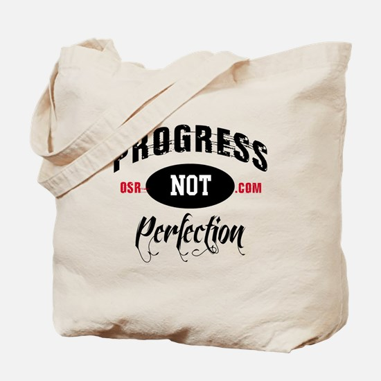 ProgressNPrefection Tote Bag