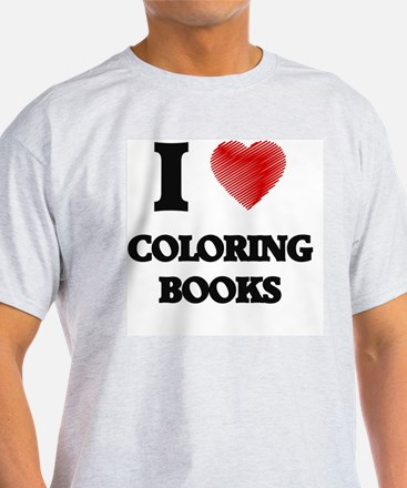Funny Coloring books T-Shirt