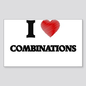 combination Sticker