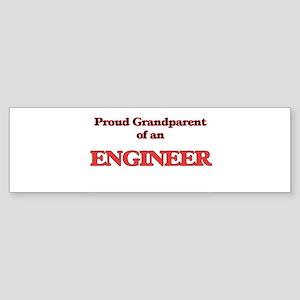 Proud Grandparent of a Engineer Bumper Sticker