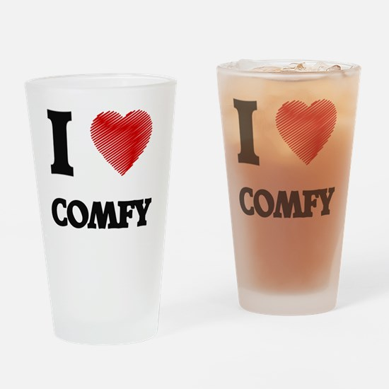 comfy Drinking Glass