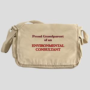 Proud Grandparent of a Environmental Messenger Bag