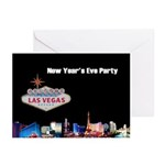 Las Vegas New Year's Eve Party Cards 10