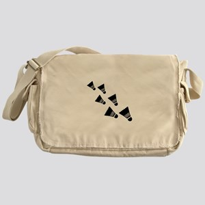 Badminton Shuttlecocks Messenger Bag
