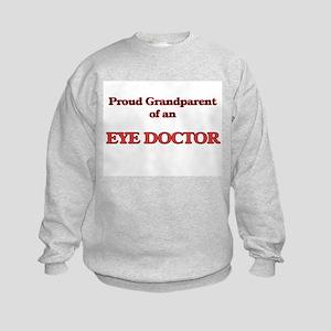 Proud Grandparent of a Eye Doctor Kids Sweatshirt