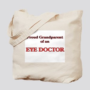 Proud Grandparent of a Eye Doctor Tote Bag