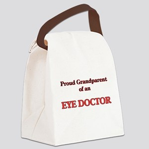 Proud Grandparent of a Eye Doctor Canvas Lunch Bag