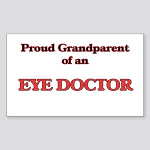 Proud Grandparent of a Eye Doctor Sticker
