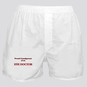 Proud Grandparent of a Eye Doctor Boxer Shorts