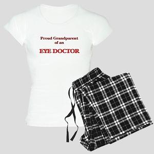 Proud Grandparent of a Eye Women's Light Pajamas