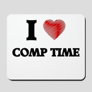 comp time Mousepad
