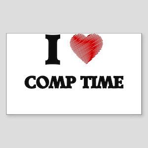 comp time Sticker