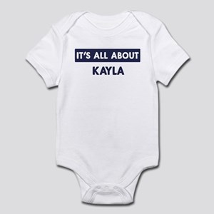 All about KAYLA Infant Bodysuit