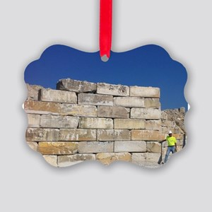 Block Wall Picture Ornament