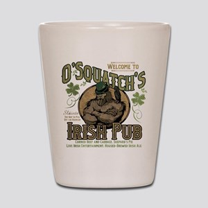 O'Squatch's Irish Pub Shot Glass