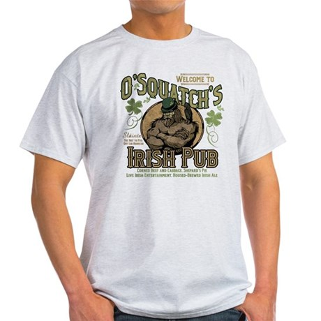 Irish Pub T-shirt O'squatch FnVnA9Z