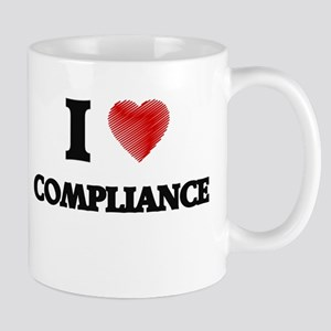 I Love COMPLIANCE Mugs