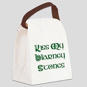 Kiss My Blarney Stones Canvas Lunch Bag