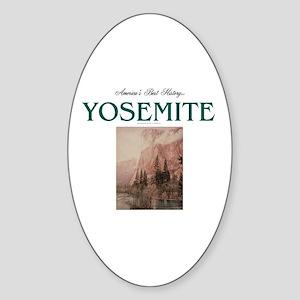 Yosemite Americasbesthistory.com Sticker (Oval)