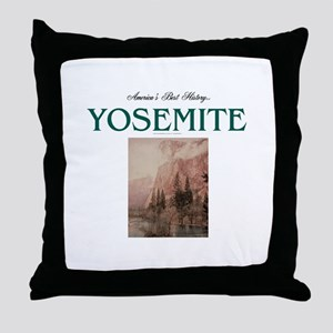 Yosemite Americasbesthistory.com Throw Pillow