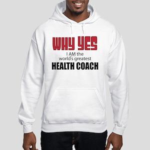 Health Coach Hooded Sweatshirt