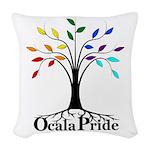 Traditional Light Woven Throw Pillow
