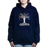 Traditional Dark Women's Hooded Sweatshirt