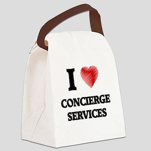 concierge Canvas Lunch Bag
