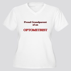 Proud Grandparent of a Optometri Plus Size T-Shirt